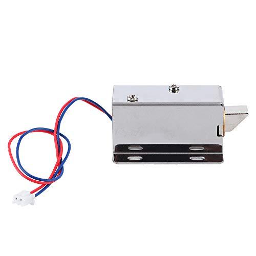 Oumefar Cerradura magnética Duradera, Cerradura eléctrica del cajón Resistente a la corrosión...