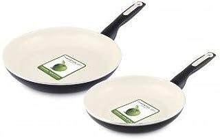 "Greenpan Rio 8"" and 10"" Fry Pan Set"
