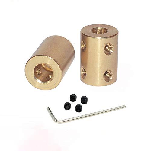 Starre Motor-Kupplung, 2 Stück, Wellenkupplung, Steckverbinder, zylindrisches...