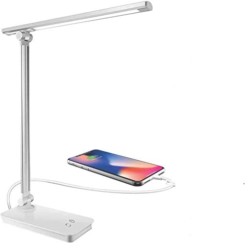 Lámpara de escritorio LED, lámpara de mesa LED regulable,