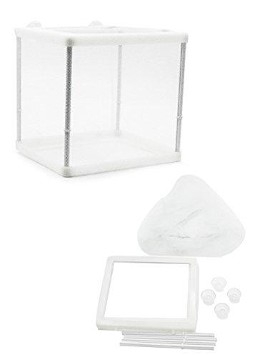 ZOSEN Aquarium Poisson éleveur boîte isolement Box éleveur écloserie incubateur