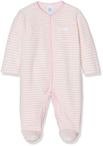 Sanetta Baby-Mädchen Overall Long Schlafstrampler, Pink (Magnolie 3609.0), 86
