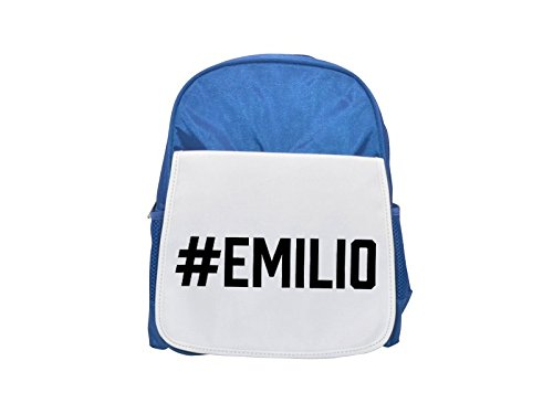 Fotomax # Emilio Printed Kid 's Blue Backpack, Cute Backpacks, Cute Small Backpacks, Cute Black Backpack, Cool Black Backpack, Fashion Backpacks, Large Fashion Backpacks, Black Fashion Backpack
