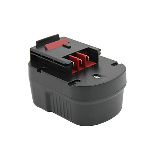 Kinon Replacement Power Tool Battery 12V 3.0Ah for Black & Decker Cordless Drill Screwdriver A12 A12EX A12-XJ A1712 BD12PSK EPC12CA FS120B FSB12 HPB12 HP126F2B