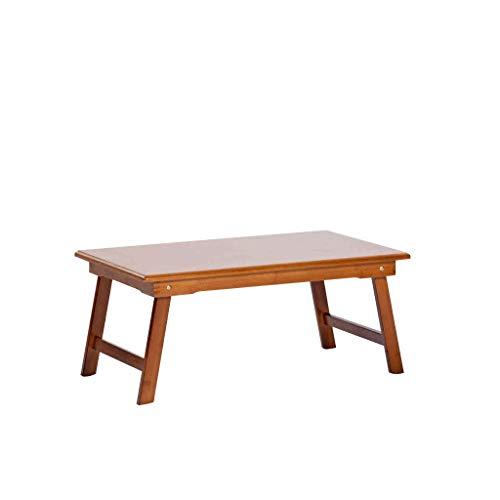 DBL Table pliante, Table pour ordinateur portable, Bambou, Table de nuit, Bureau, Table à manger, Bureau, Multifonction, Canapé, Extérieur, Terrasse Table pliable