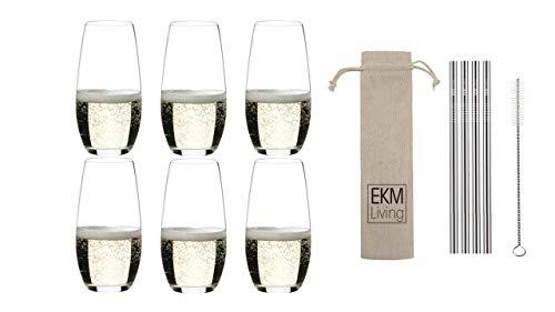RIEDEL Champagner Glas O 0414/28 (6er Set Champagner)