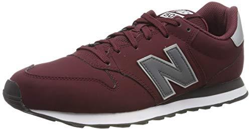 New Balance 500, Zapatillas para Hombre, Rojo (Burgundy Burgundy), 40 EU