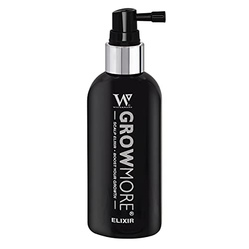 Hair Growth Serum - Watermans Grow More Elixir of Hair 100ml - Boost Your Growth & Hair Thickening leave in Topical Scalp Treatment (Scalp only)