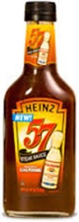 Heinz 57 Steak Sauce with Lea & Perrins Worcestershire Sauce 10oz Bottle (Pack of 6)