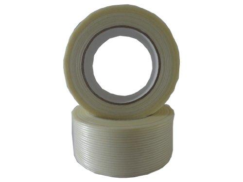 10x Filamentband Filament Klebeband Packband 50m X 50mm fadenverstärkt