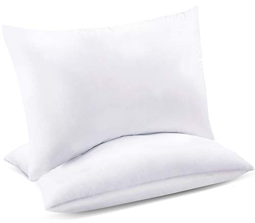 "Celeep 2-Pack Queen Bed Pillows - 20"" x 26"" - 900GSM Ultra Soft Sand Washed Cover, Sleeping Pillows with Lofty Microfiber Filling"