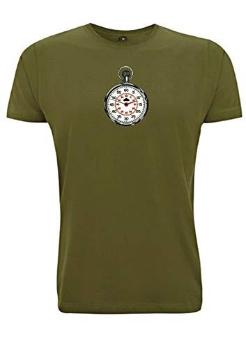 Vintage Temporizador Camiseta Cronógrafo Carreras de Coche Lemans 24 F1 Reloj de Coche Cronómetro F2 Regalo para Papá