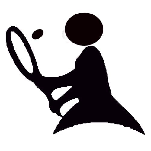 stickman : tennis ball