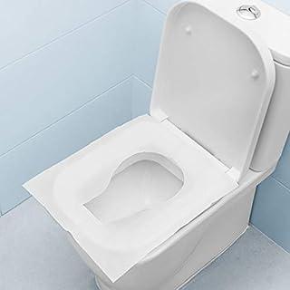 Billards Housses Yncc 30 PCS Siège de Toilette Jetable,Protection Toilette WC Jetable Couvre Siege Lunette,Emballage Individuel Matériau Antibactérien Format Standard Toilette Papier pour Voyage Enfants
