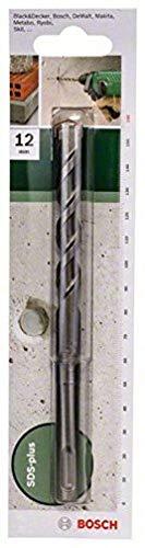 Bosch 2 609 255 522 - Broca de martillos perforadores SDS-plus S2