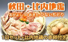 秋田・比内地鶏1羽セット