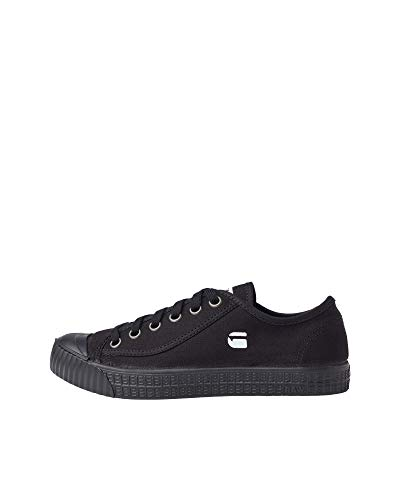 G-STAR RAW Damen Rovulc Denim Low Sneakers, Schwarz (Black 990), 38 EU