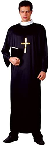 (XL) Herren Vater vater Kostüm für Vikar Priester Kostüm Herren Herren XL