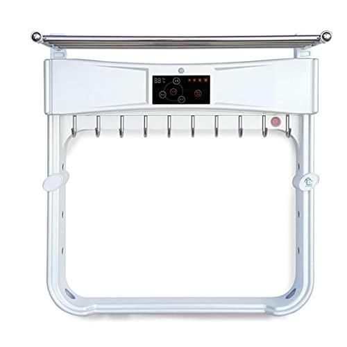 Mobiliario para el hogar Calentador de toallas inteligente Secado inteligente Toallero eléctrico 290w Protección del medio ambiente Termostato ultravioleta Desinfección con ozono Baño Rejilla de se