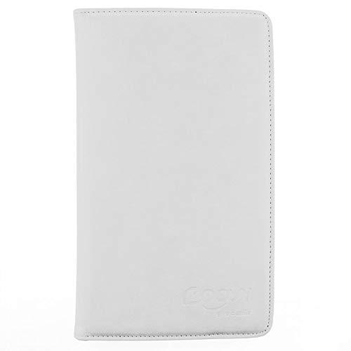 COOVY 2.0 Funda para Huawei Matepad T8 (8.0') Smart 360º Grados ROTACIÓN Cover Case Protectora Soporte | Blanco