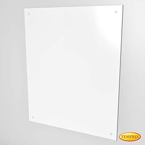 Wandschutz für Kamin & Ofen | Funkenschutz aus Glas | Glas wand als Hitzeschutz & Möbelschutz | Sundsvall