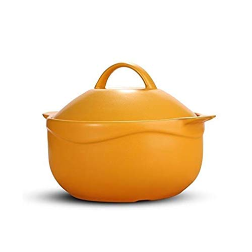 XXDTG Soup Pot - Ceramic Porcelain Soup Bowl with Handle French Onion Soup Bowl Casseroles are...