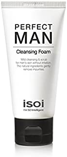 isoi Perfect Man Cleansing Foam - foaming cleanser for sensitive skin 75ml