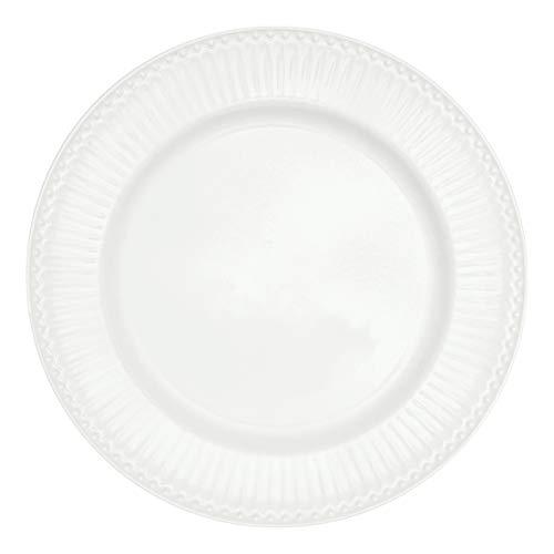 GreenGate STWDINAALI0106 Alice Speiseteller White 26,4 cm (1 Stück)