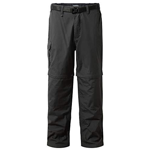 Craghoppers Herren Outdoor Reise Kiwi Convertible Hose , Schwarz (Black Pepper) , 48-50 ( Herstellergröße : 34L)