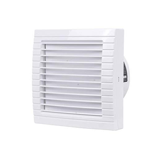 QZKFJ Fan de Extractor de baño, Ventilador de Extractor de Cocina Ventilador de ventilación silencioso, Rejilla para y ventilación Baño montado con ventilación, Vidrio de Ventana