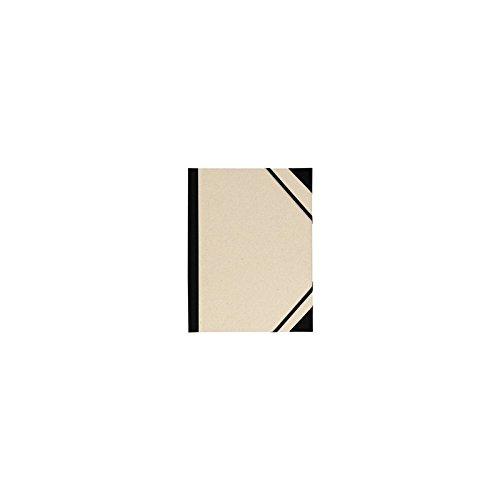 Carpeta Dibujo 37x52 cm, Canson Brut Gris, con Gomas