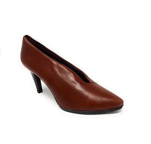 DESIREE 92053 Diana Total Flex, Zapatos de Tacon de Piel para Mujer Siena (39 EU, Siena)