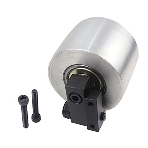 Molinillo de cinturón Diámetro de la rueda de la rueda de 68 mm de espesor de 50 mm de aluminio de la rueda activa de la rueda de aluminio.