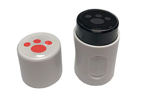 Asbri Golfball-Stempel, Rote Pfote