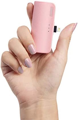 iWALK Mini Portable Charger for iPhone with Built in Cable Upgraded 3350mAh Ultra Compact Power product image