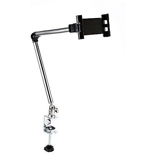 Yuyanshop Tablet Stand Holder, 360° Rotating Tablet Stand Holder Adjustable Clamp Bed Desk Mount Bracket for iPad Phone