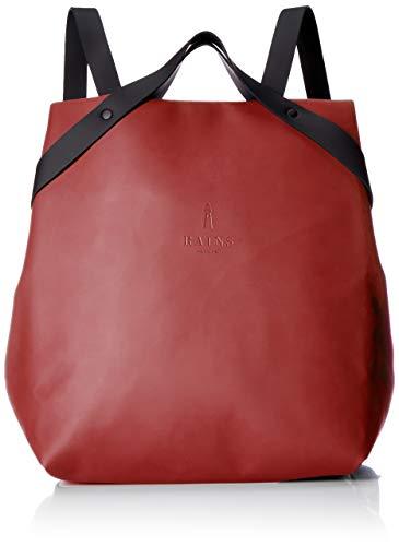 RAINS Unisex-Erwachsene Shift Bag Rucksack, rot (scharlach), 32.0x36.0x12.0 cm