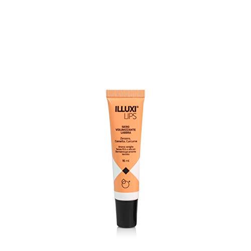 ILLUXI LIPS | Balsamo labbra Volumizzante Idratante | Effetto Rimpolpante | Labbra definite e voluminose | Con Acido Ialuronico |15 ml