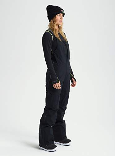 Burton Womens Ak Gore-Tex 3L Kimmy Bib, True Black New, Large Tall