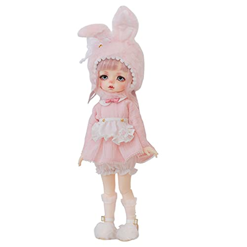 BJD Doll 10 Inch 1/6 SD Dolls for Age 3 4 5 6 7 Years Old Kids Dolls for Girls Baby Cute Doll Toy with Clothes and Shoes Birthday Gift for Girls - Sherry Toys