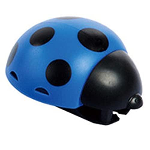Conjunto De Baño Niños Sanitarios Ladybug Montado En La Pared Cepillo De Dientes Soporte De Cepillo Animal con Ventosa (Color : Blue)
