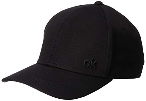 Calvin Klein Damen CK Baseball Cap, Schwarz (Black 001), One Size (Herstellergröße: OS)