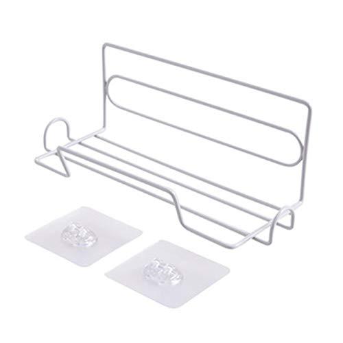DDST betrouwbare Nuttige Keuken Racks Cling Film Opslag Rack Smeedijzer Koelkast Zijwand Rack Toiletpapier Handdoek Roll Houder