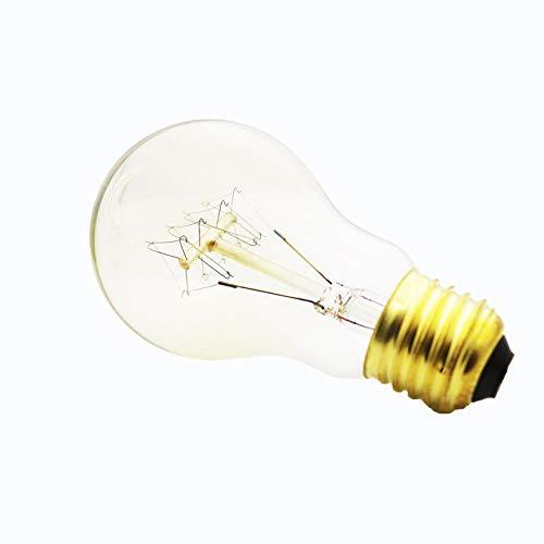Edison Ledlampen, kaarsen, 5 stuks, voor Kerstmis, dimbare gloeilamp, vintage, retro, E27-fitting, 220 V, vlam, buitenverlichting, lamppadina