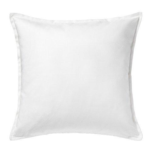 Ikea Gurli - Funda para cojín de color blanco, de 50 cm x 5