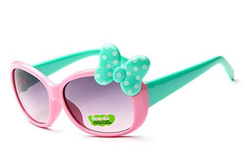 HAOMAO Gafas para niños Classic Retro Cute Uv400 Gafas de Sol para niños niñas C5