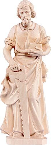 Ferrari & Arrighetti San Giuseppe Falegname - Demetz - Deur - Statua in Legno Dipinta a Mano. Altezza Pari a 8 cm.