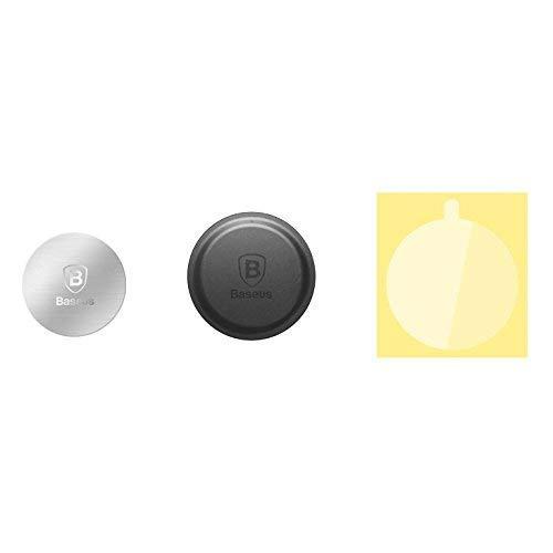 Baseus Magnet Iron Suit 2X Metallplättchen für Auto Magnet Handyhalter KFZ Universal...