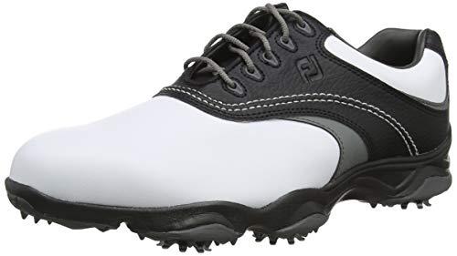 Footjoy Herren Fj Originals Golfschuhe, Weiß (Blanco/Negro/Gris 45306m), 45 EU