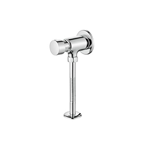 Ibergrif M21903 - Grifo Temporizado Urinario, Crome Latón, Plata